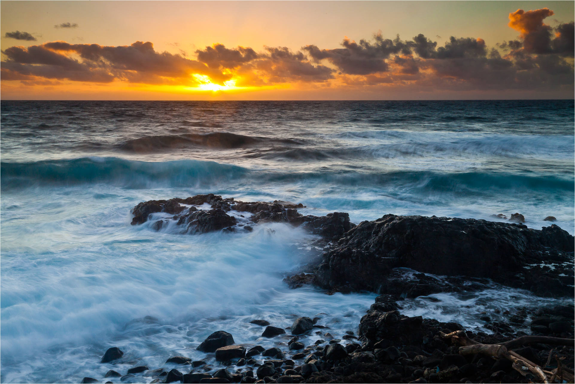 hawaiian landscapes kaua�i sunrises christopher martin