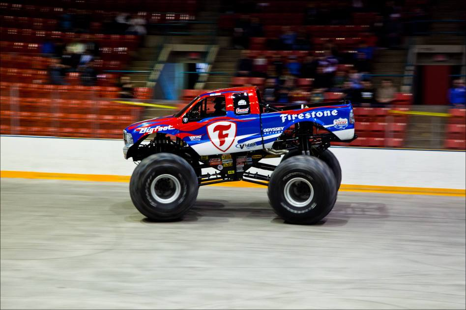 Bigfoot In Calgary A Monster Truck Attacks Christopher