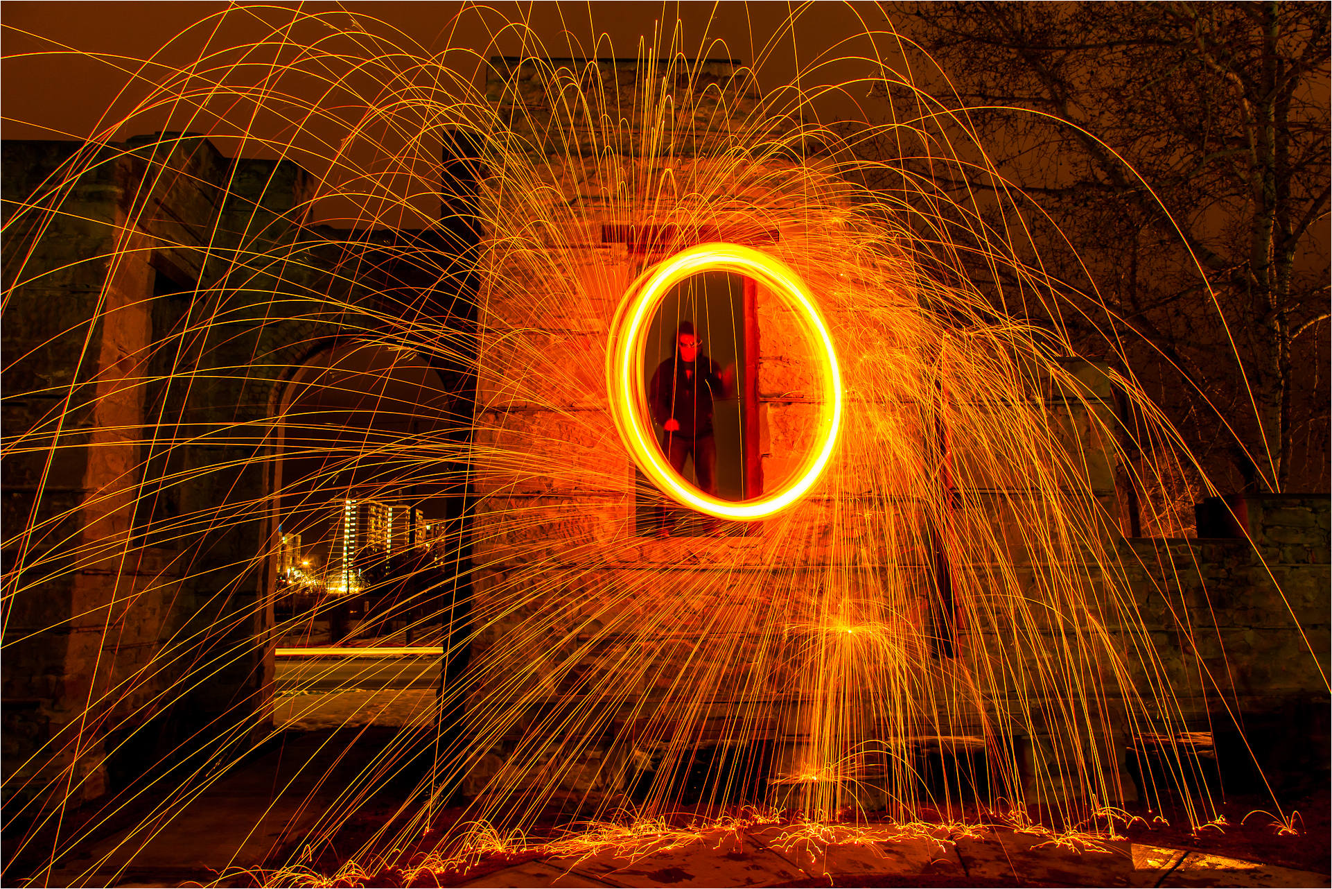 Fire circles and spark trails 2012 christopher martin 6282 3 - Add spark wall art picture lights ...