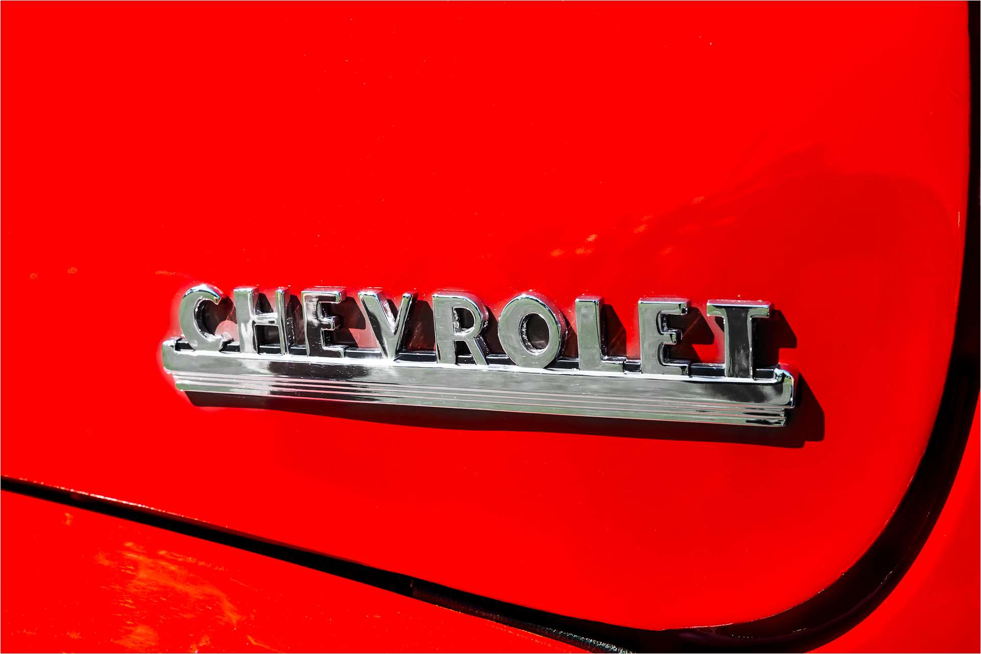 Muscle Cars Grill Badges And Styled Letters Christopher Martin