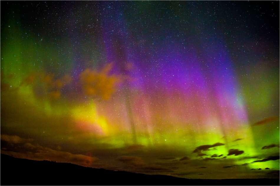 Aurora Borealis in Southern Alberta - © Christopher Martin-3029