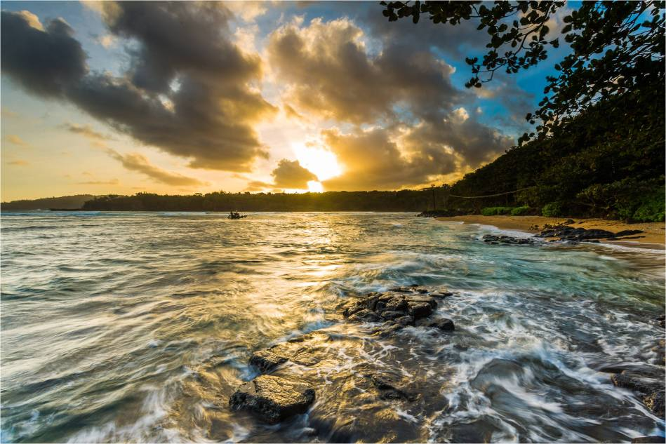 Sunshine on Kalihiwai - © Christopher Martin-3583