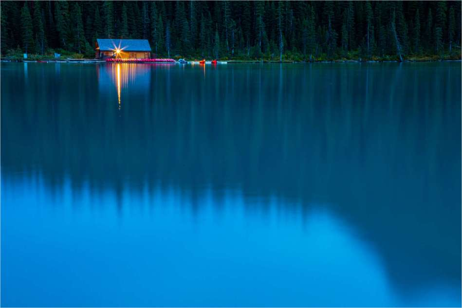 The cabin on Lake Louise - © Christopher Martin-0530