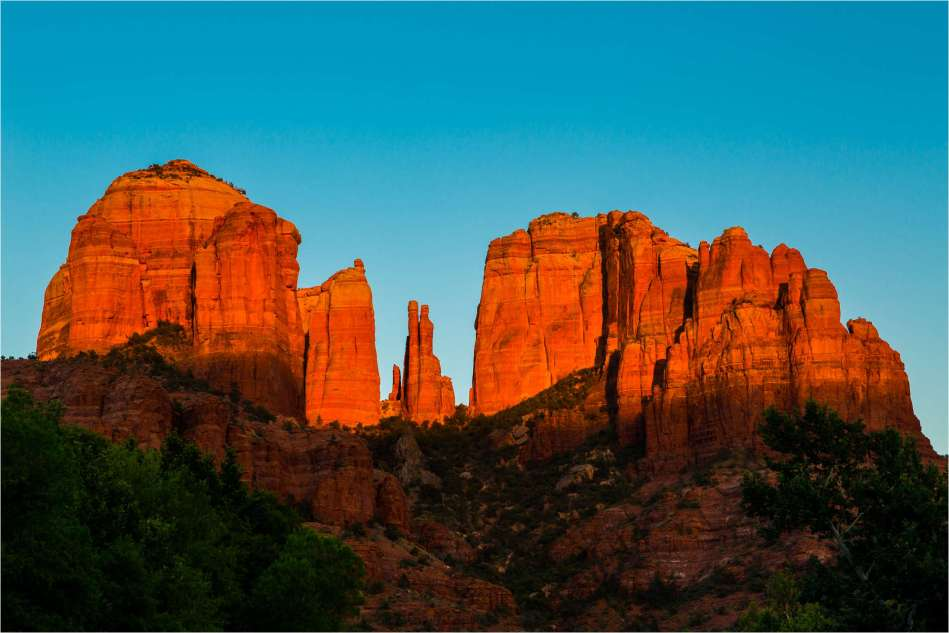 Sunset at Cathedral Rock - © Christopher Martin-1077