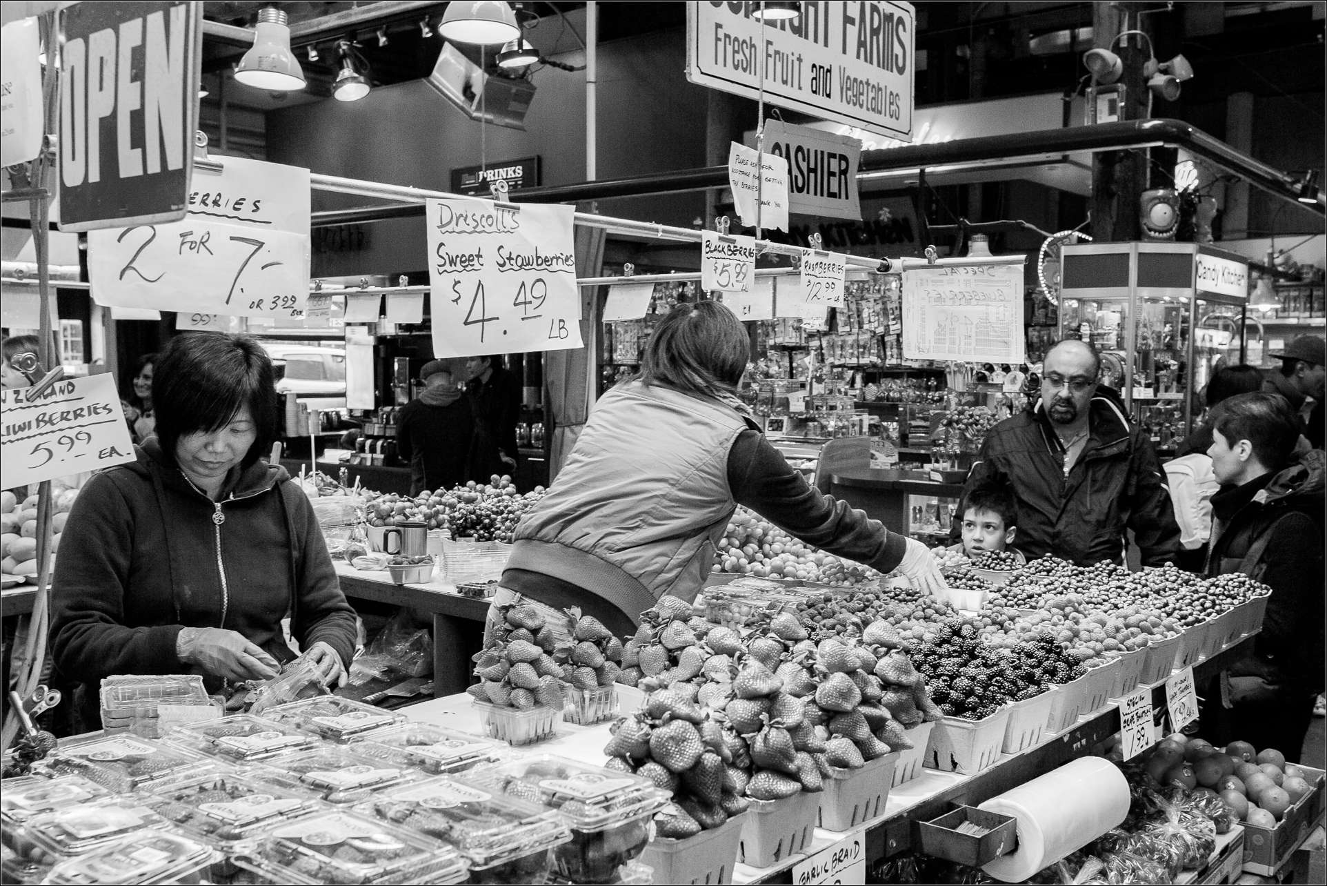 Granville Island Market - 2013 © Christopher Martin