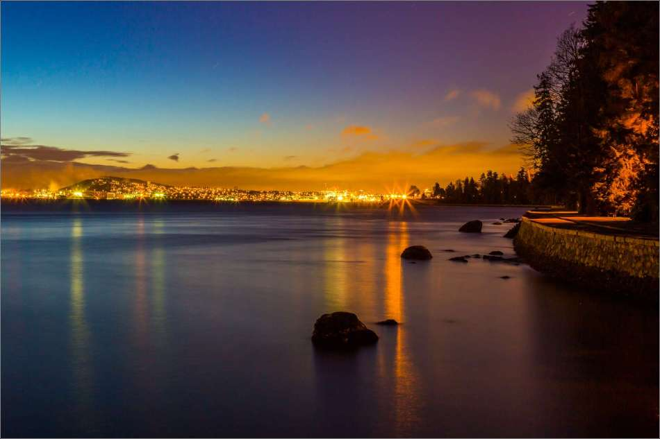 Dawn on the Burrard Inlet - 2013 © Christopher Martin