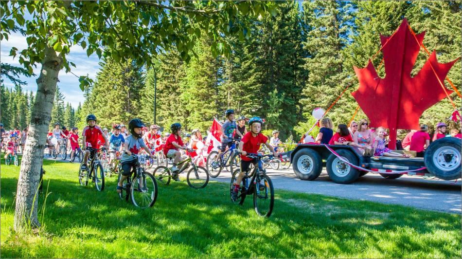 Redwood Meadows Bike Parade - 2013 © Christopher Martin