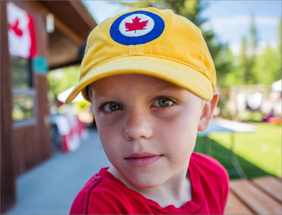 A Canadian boy - 2013 © Christopher Martin