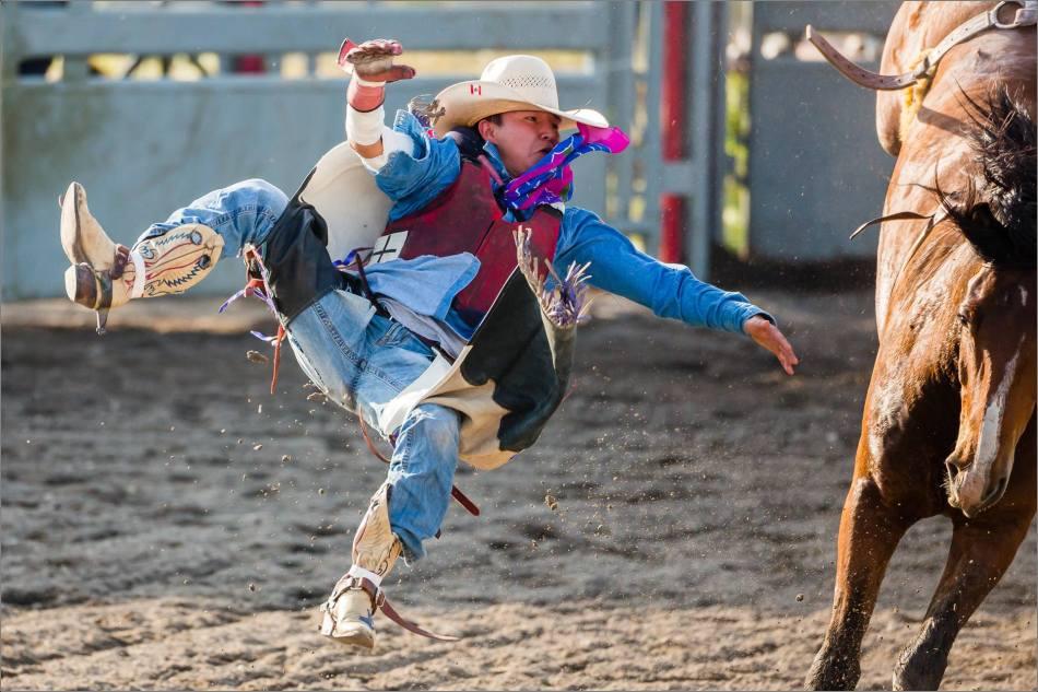Cowboy Flight - 2013 © Christopher Martin