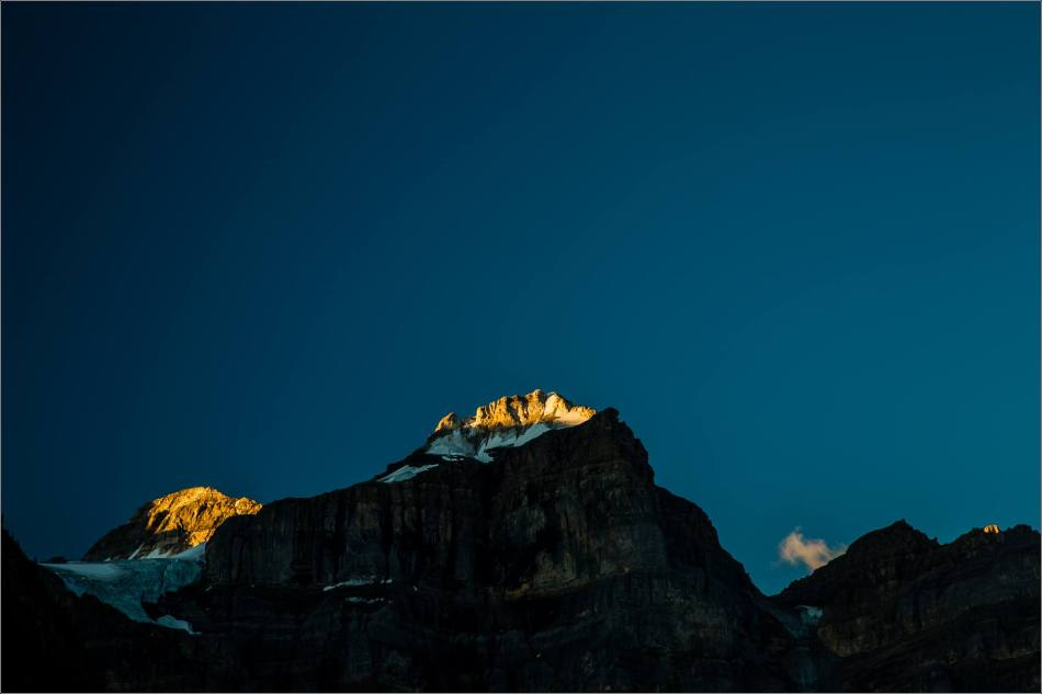 Light and dark among the Ten Peaks - 2013 © Christopher Martin