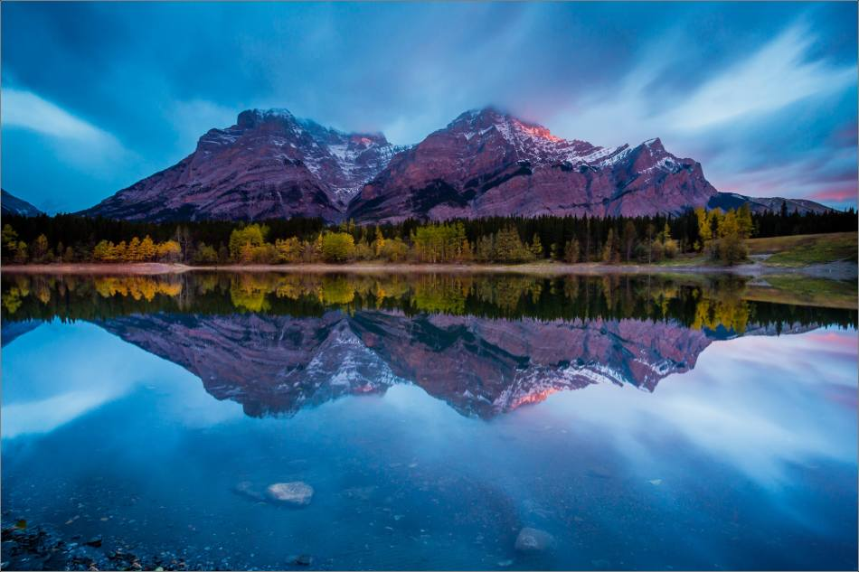 Morning glow at Wedge Pond - 2013 © Christopher Martin