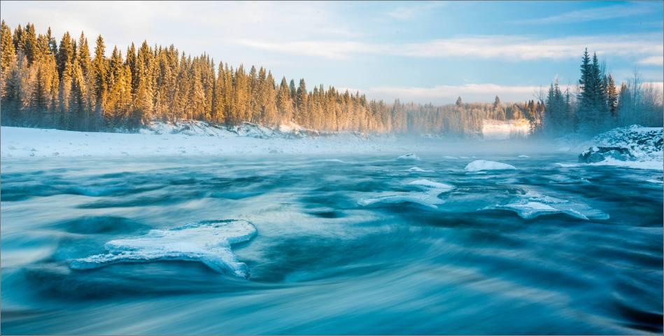 Winter along the Elbow River - 2013 © Christopher Martin