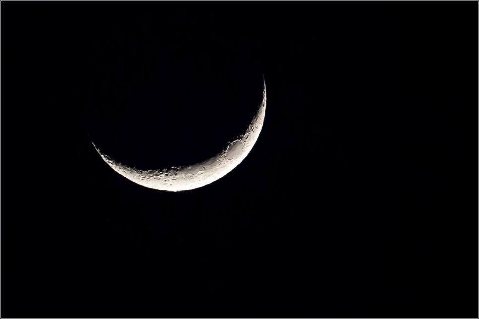 Luna Creciente - 2013 © Christopher Martin