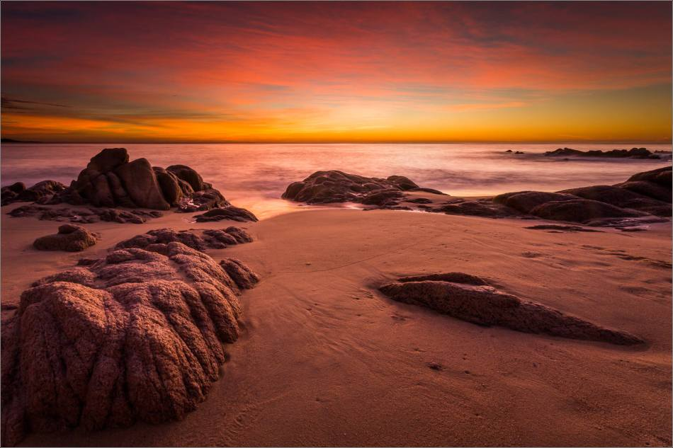 Dawn over the rocks - 2013 © Christopher Martin