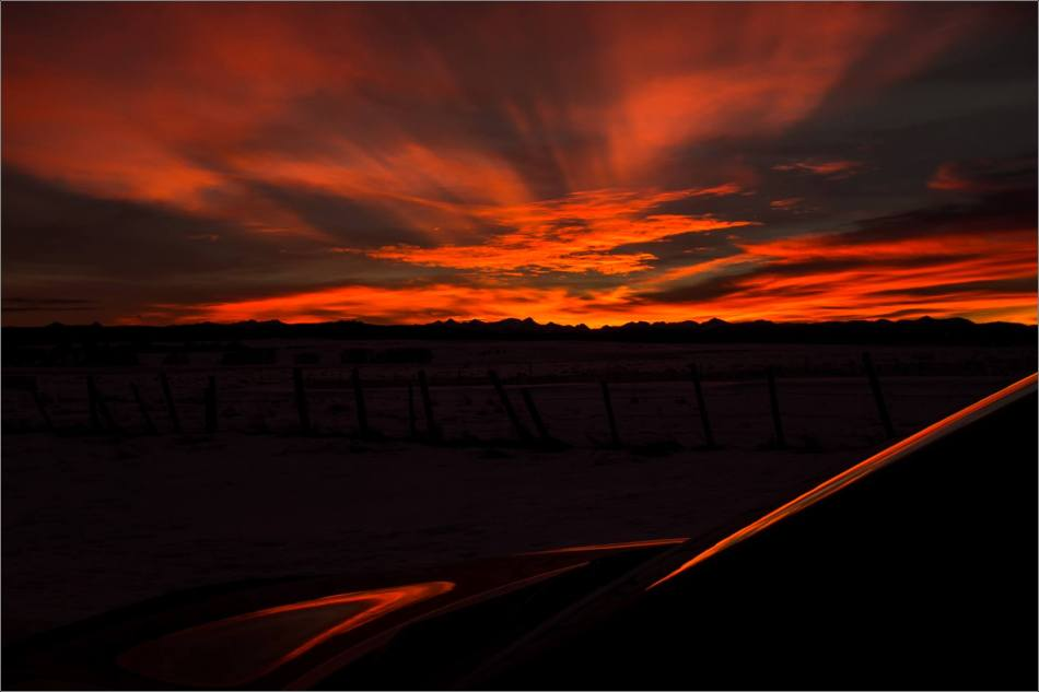 A thin slice of sunset - 2014 © Christopher Martin
