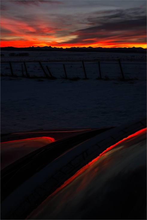 Sunset reflected - 2014 © Christopher Martin