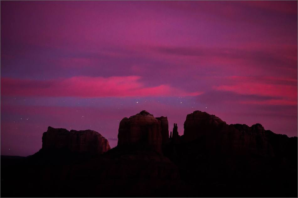 Sedona into sleep - 2014 © Christopher Martin
