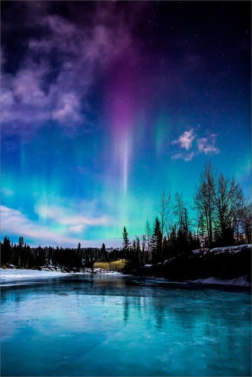 Aurora Flare - 2014 © Christopher Martin