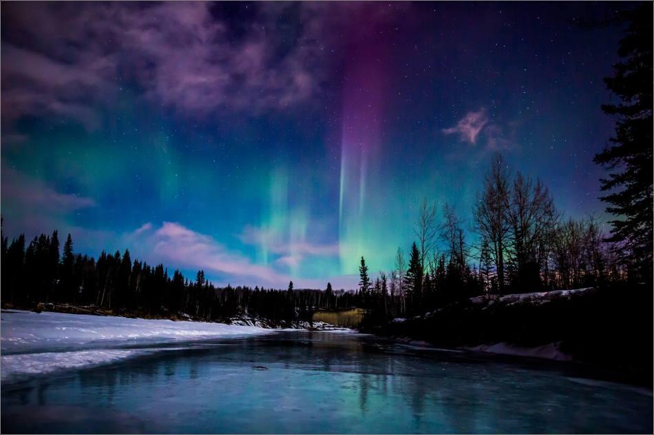 Aurora fire - 2014 © Christopher Martin