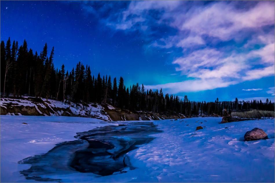 Fading Aurora - 2014 © Christopher Martin