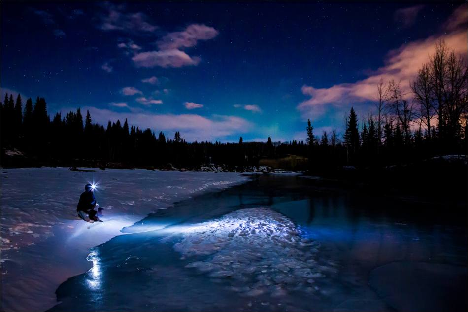 Searching for the Northern Lights - 2014 © Christopher Martin