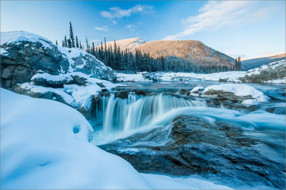 Elbow Falls in winter's clothing - 2014 © Christopher Martin