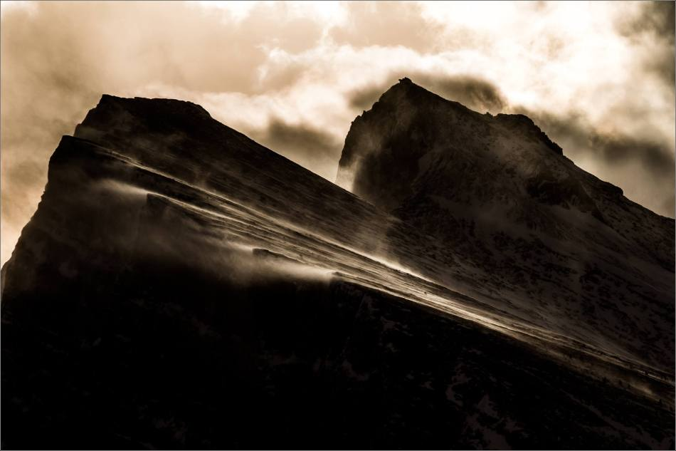Wind in the mountains - 2014 © Christopher Martin