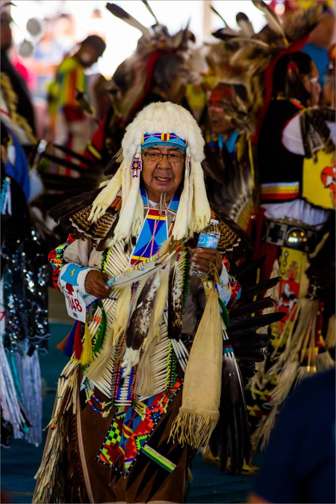 Pow Wow dancers - 2014 © Christopher Martin