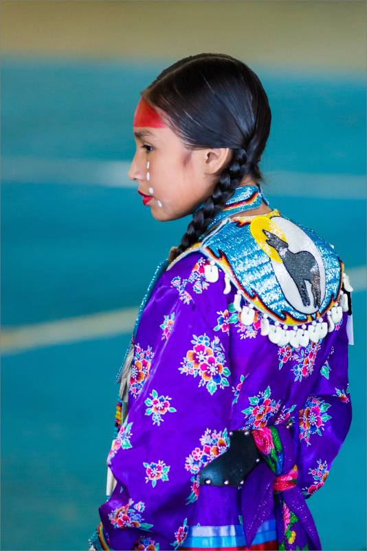 Pow Wow dancer - 2014 © Christopher Martin