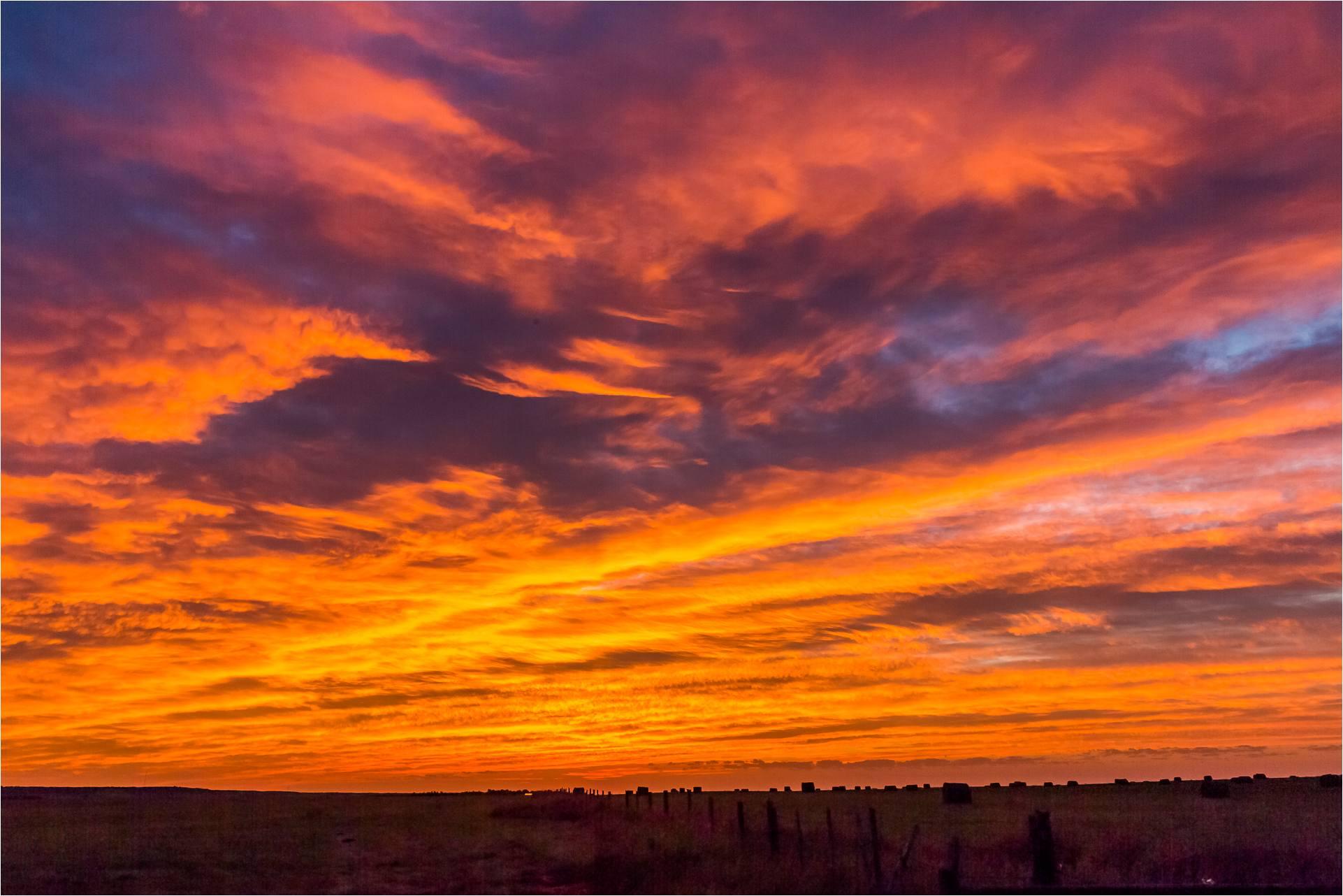 Autumn sunrise on the prairie | Christopher Martin Photography