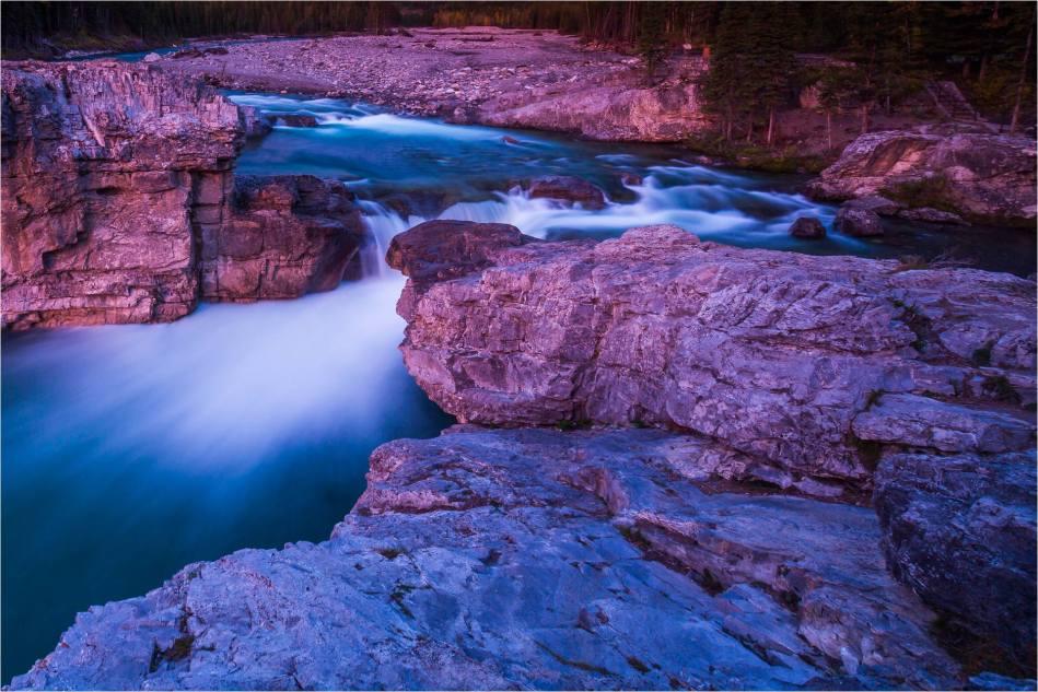 Elbow Falls - water through the rocks - © Christopher Martin-1379-2