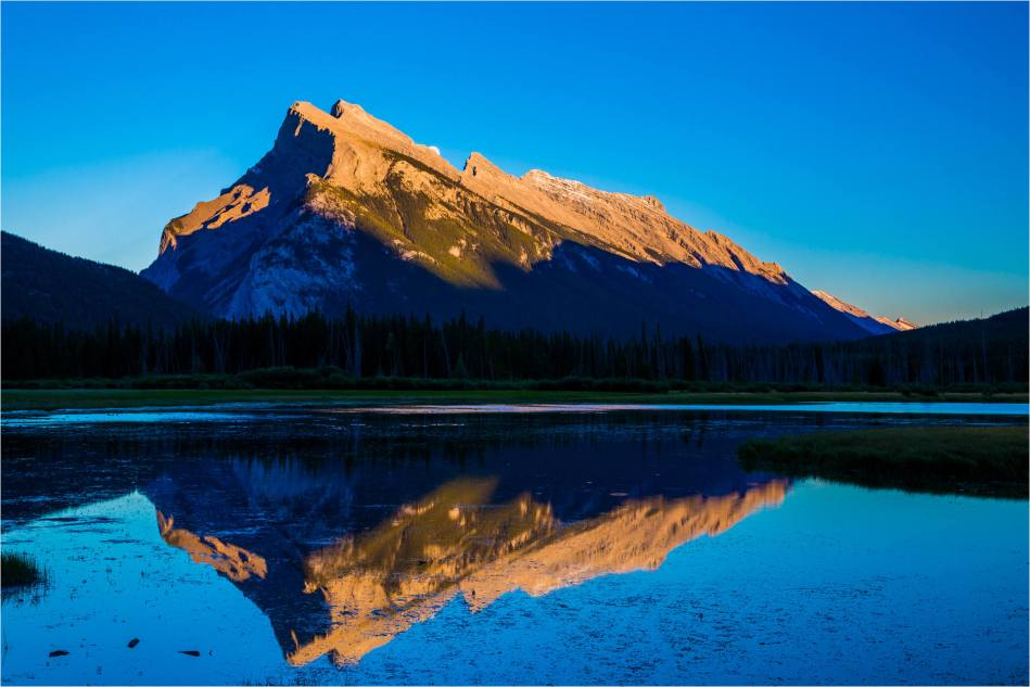 Mount Rundle Moonrise - © Christopher Martin-9546