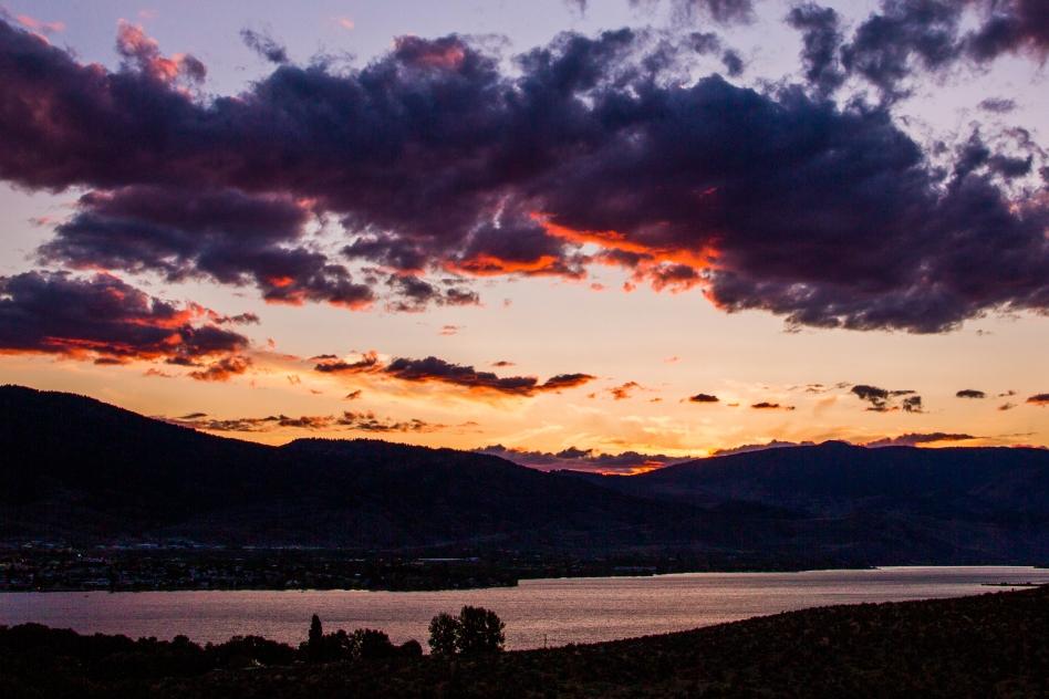 Sunset over Lake Osoyoos - © Christopher Martin-6948