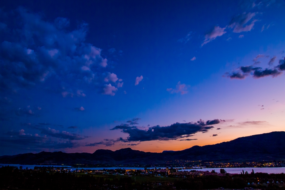 Evening comes over Osoyoos - © Christopher Martin-7013