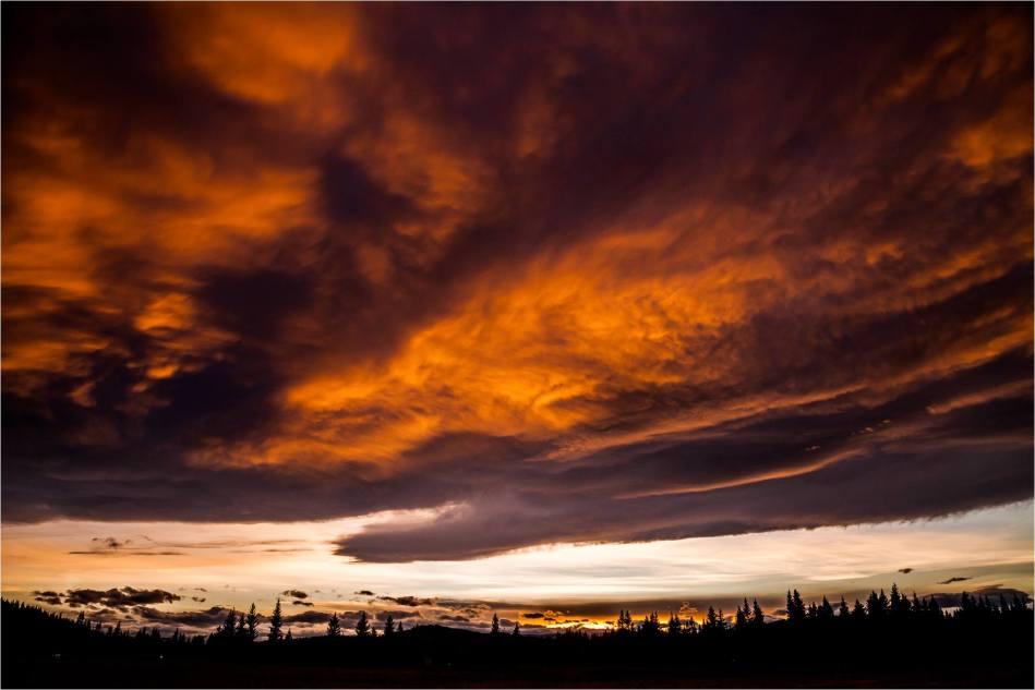 Autumn sunset over Bragg Creek - © Christopher Martin-4896