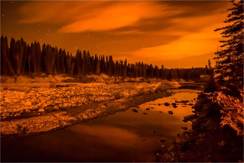 Landscape under a lunar eclipse - © Christopher Martin-4552