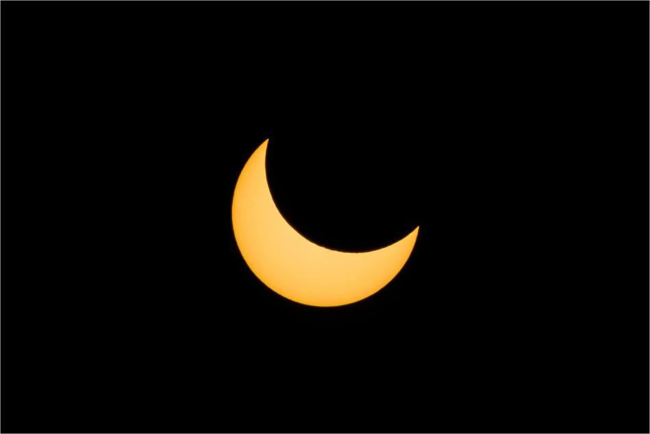 Partial solar eclipse - © Christopher Martin-7431