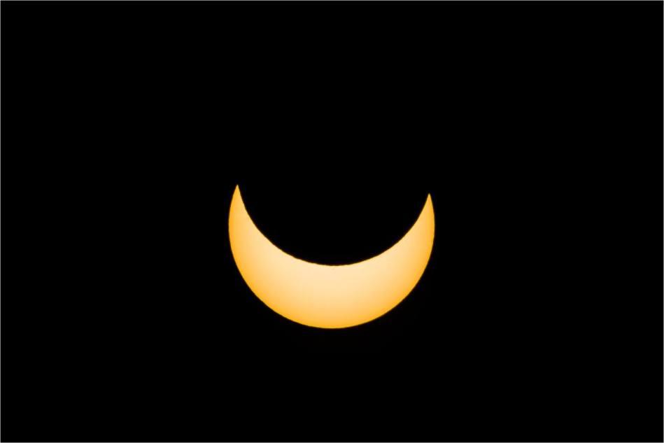 Partial solar eclipse - © Christopher Martin-7482-2
