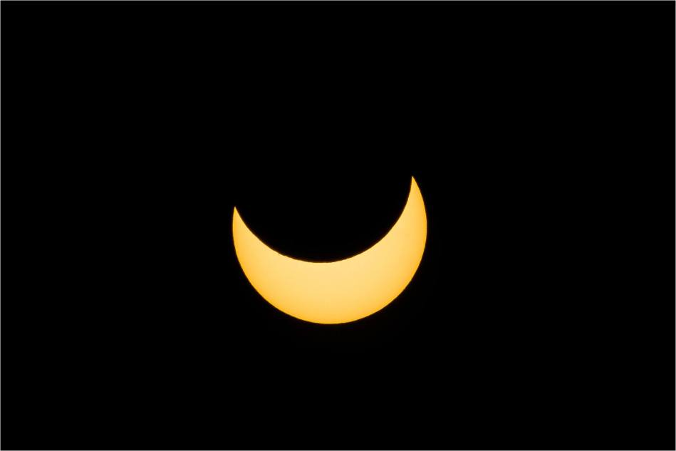 Partial solar eclipse - © Christopher Martin-7514