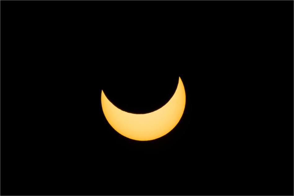 Partial solar eclipse - © Christopher Martin-7514
