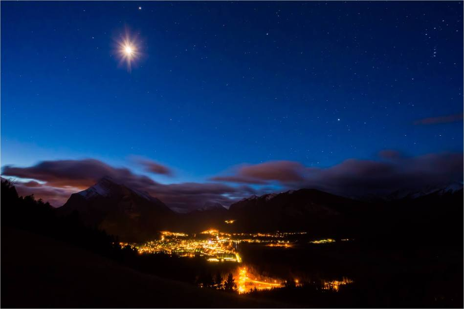 Waiting for sunrise over Banff - © Christopher Martin-5850