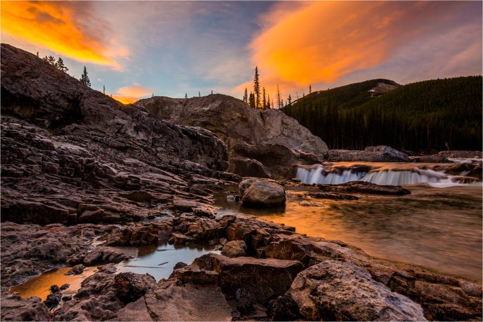 Elbow Falls Dawn - © Christopher Martin-9722