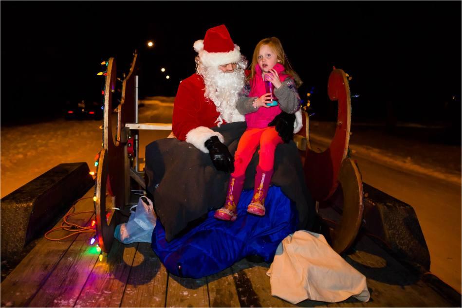 Kezia and Santa Claus - © Christopher Martin -8620