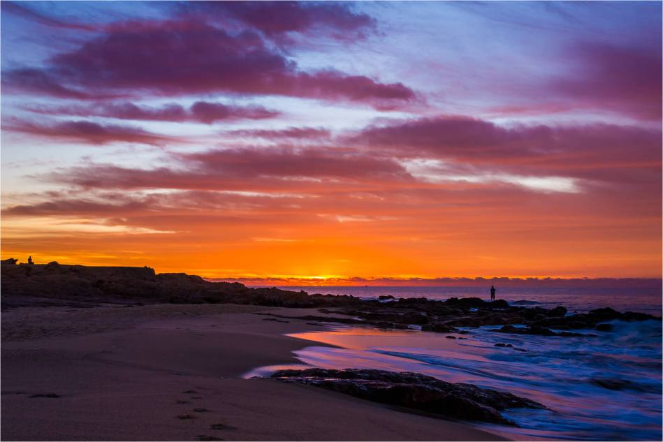 Sunrise and a fisherman - © Christopher Martin-1055