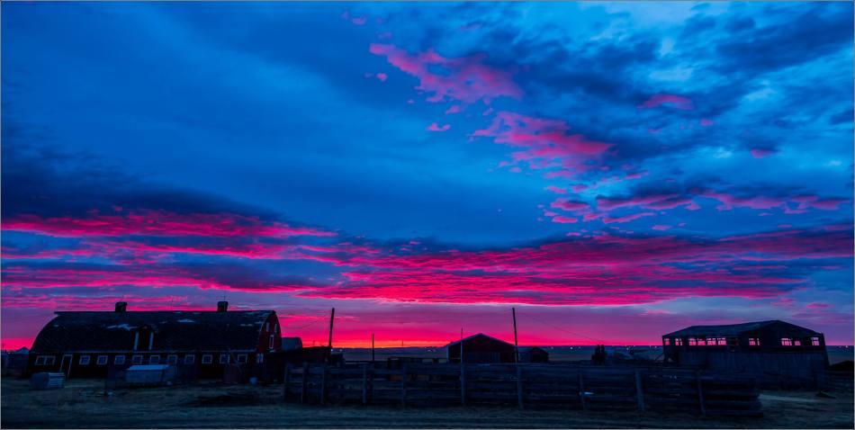 Irricana farm before sunrise - © Christopher Martin-0755-2