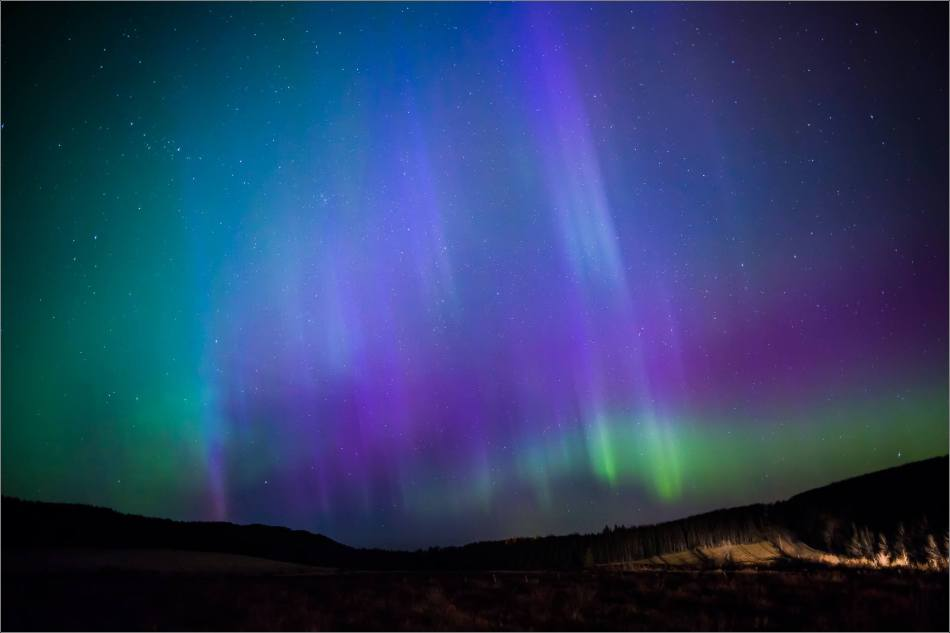 Aurora over Bragg Creek - © Christopher Martin-4153