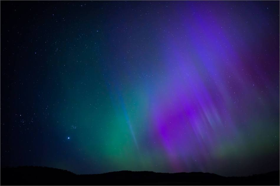 Aurora over Bragg Creek - © Christopher Martin-4180