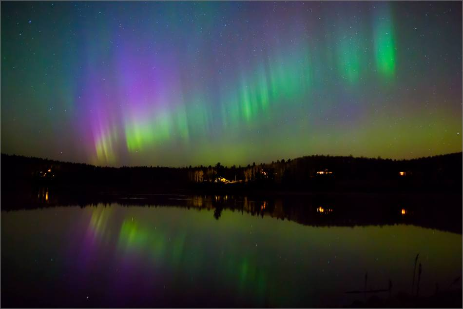 Aurora over Bragg Creek - © Christopher Martin-4201