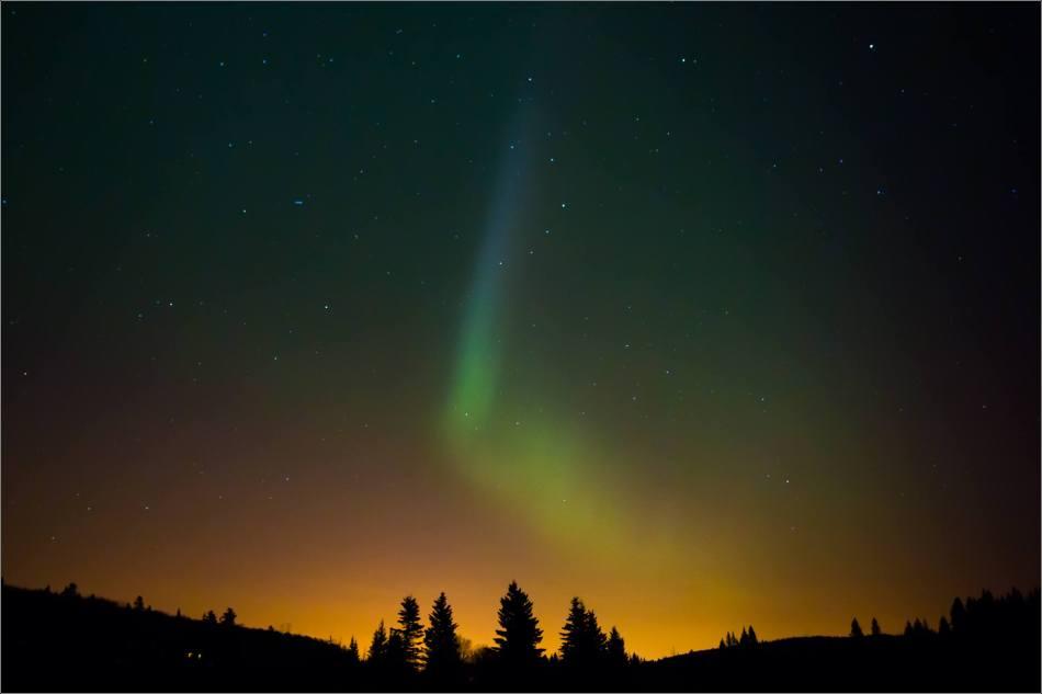 Aurora over Bragg Creek - © Christopher Martin-4220
