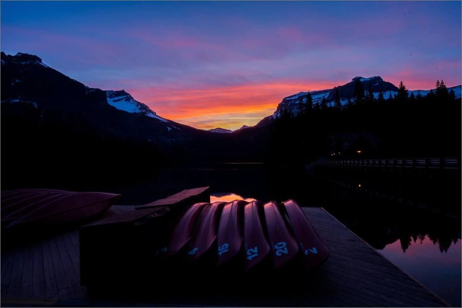 Sunrise reflected in Emerald Lake - © Christopher Martin-0142
